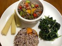 低碘「鮮蔬炒牛絞肉」