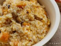 [大賀米好料理]南瓜雞肉燉飯