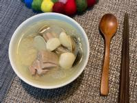 超簡單~蒜頭蛤蠣雞湯🧄