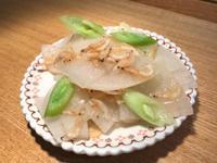 蒜苗炒蝦皮白蘿蔔