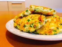 【韓式-小菜】健康蔬菜豆腐煎餅 素食👌