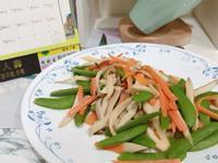 甜豆炒杏鮑菇