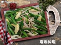 蒜香炒三蔬