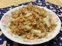 高麗菜炒飯