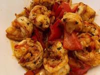 橄欖油蒜味蝦