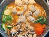 日式雞肉丸味增鍋