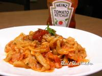 亨氏番茄醬100%純天然-香蒜茄汁麵中麵