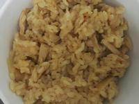 杏鮑菇也可以做高麗菜飯