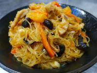 金瓜炒米粉-家常菜