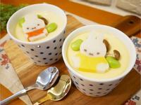 寶寶副食品「蒸蛋」可愛又好吃的滑嫩感 ♪
