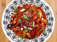 【韓式-小菜】 蒜蔥香炒小章魚