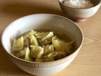 加了這個就很美味,小火鍋風高湯高麗菜
