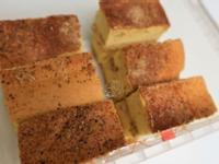 花生海綿蛋糕與奶油夾餡