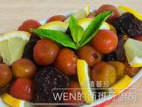 梅漬蕃茄+蜂蜜梅汁氣泡飲