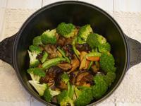 香菇燴海參(一鍋到底)