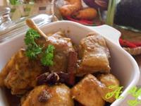 黑胡椒咖哩雞