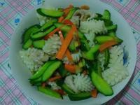 小黃瓜炒三鮮