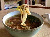 日式美味~豬肉白菜蛋烏龍麵
