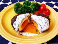 日式半熟蛋漢堡排