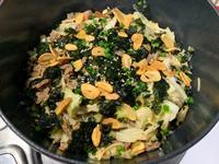 牛肉蒜片石鍋拌飯