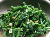 清炒龍鬚菜/大蒜 黃豆醬