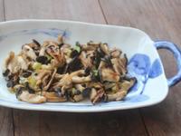 香炒黑美人菇