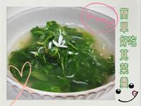 簡單料理營養好吃莧菜吻仔魚羮