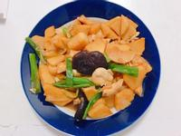 香菇筍子燒雞