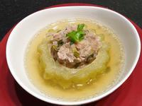 <家常菜>夏天清爽可口的「燉苦瓜封肉湯」