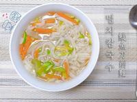 韓國鯷魚刀削麵