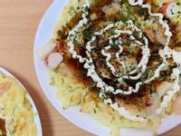雜錦海鮮大阪燒|十五分鐘上菜