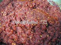 馬來西亞-自製參巴醬