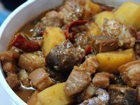 豆醬燜豬肉Babi Pong Teh