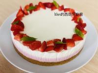 免烤 草莓雙層乳酪蛋糕