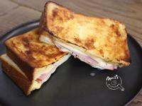 濃厚火腿乳酪法國吐司 ❙小烤箱料理❙