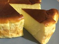 巴斯克乳酪蛋糕(氣炸花蜜)