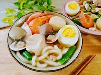 海鮮烏龍麵(湯)