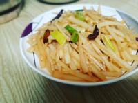 酸辣土豆絲-跟著做簡單又好吃