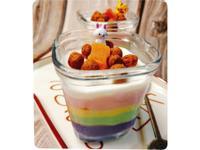 杯子彩虹生乳酪 (免烤箱)