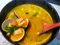 蛤蜊南瓜湯
