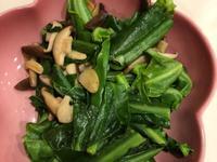 山蘇炒香菇