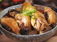 紅棗香菇焖雞