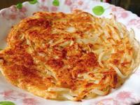 【韓式-輕食】 帕瑪森起司馬鈴薯煎餅