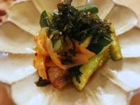 【副菜】泡菜小黃瓜