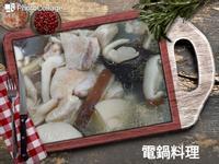 蒜頭菇菇雞湯