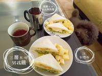 【新手華麗上桌早午餐】酪梨蘋果蛋三明治