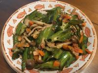 素干貝醬炒翼豆