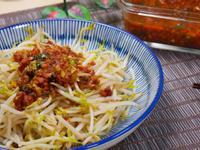 #81 肉燥燙豆芽菜 / 燙青菜