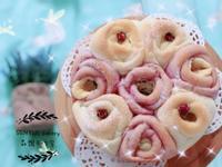 玫瑰花🌹手撕麵包(只加鮮奶不加水))