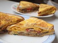 一鍋到底法國土司三明治